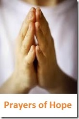 praying hands plus prayers of hope